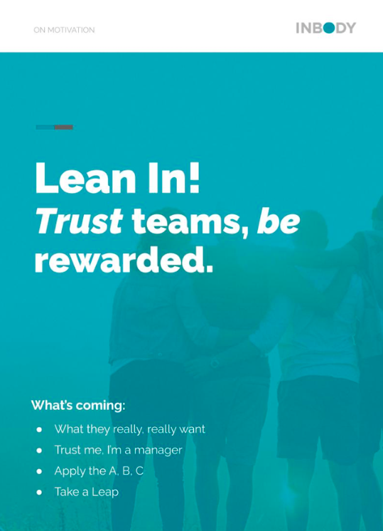 motivating teams WHITE PAPER COVER